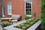 Slocum house patio